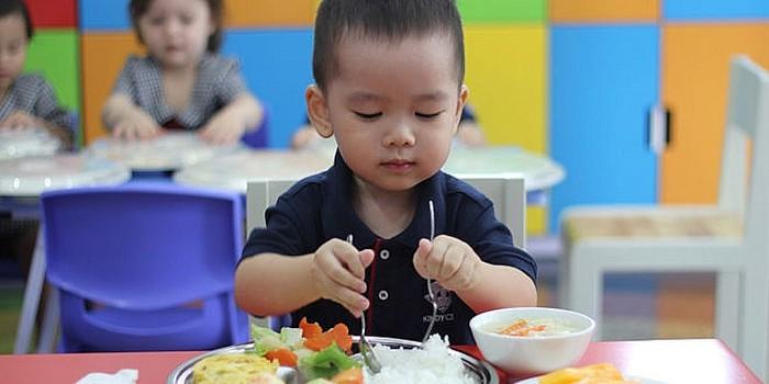 Bữa ăn của trẻ