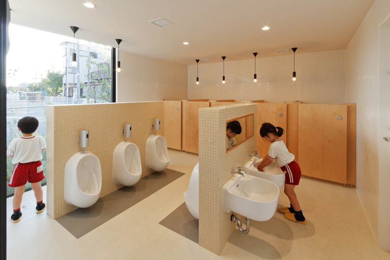 Nhà vệ sinh mầm non